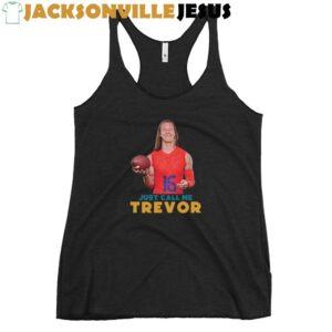 Just Call Me Trevor ( Clemson Edition ) Women's Racerback Tank