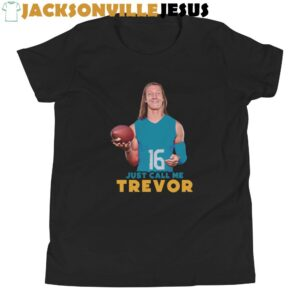 Just Call Me Trevor ( Jaguars Edition ) Youth Short Sleeve T-Shirt