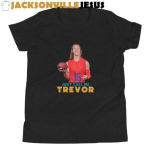 Just Call Me Trevor ( Clemson Edition ) Youth Short Sleeve T-Shirt
