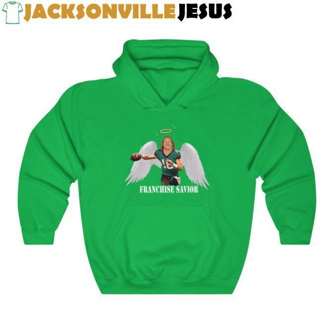 Trevor The Jaguars Franchise Savior Unisex Heavy Blend™ Hooded Sweatshirt