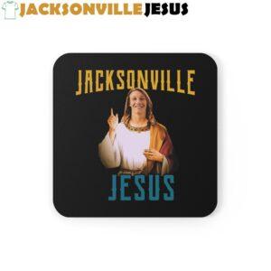 Jacksonville Jesus ( Trevor Lawrence ) Corkwood Coaster Set